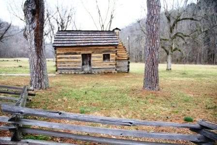 Lincoln home at Knob Creek