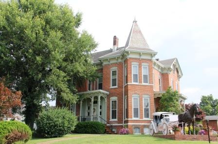 Summers Riverview Mansion Bed & Breakfast, Metropolis IL: Elegant Comfort