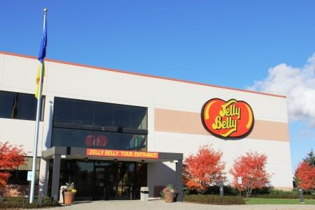 Jelly Belly warehouse