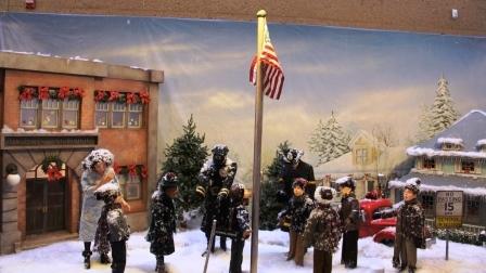 Christmas Story flagpole