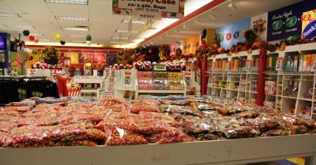 Jelly Belly outlet store, Pleasant Prairie WI
