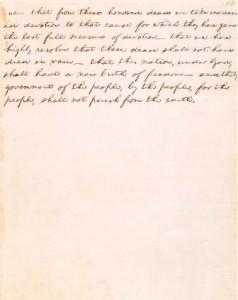 Gettysburg Address Page 2
