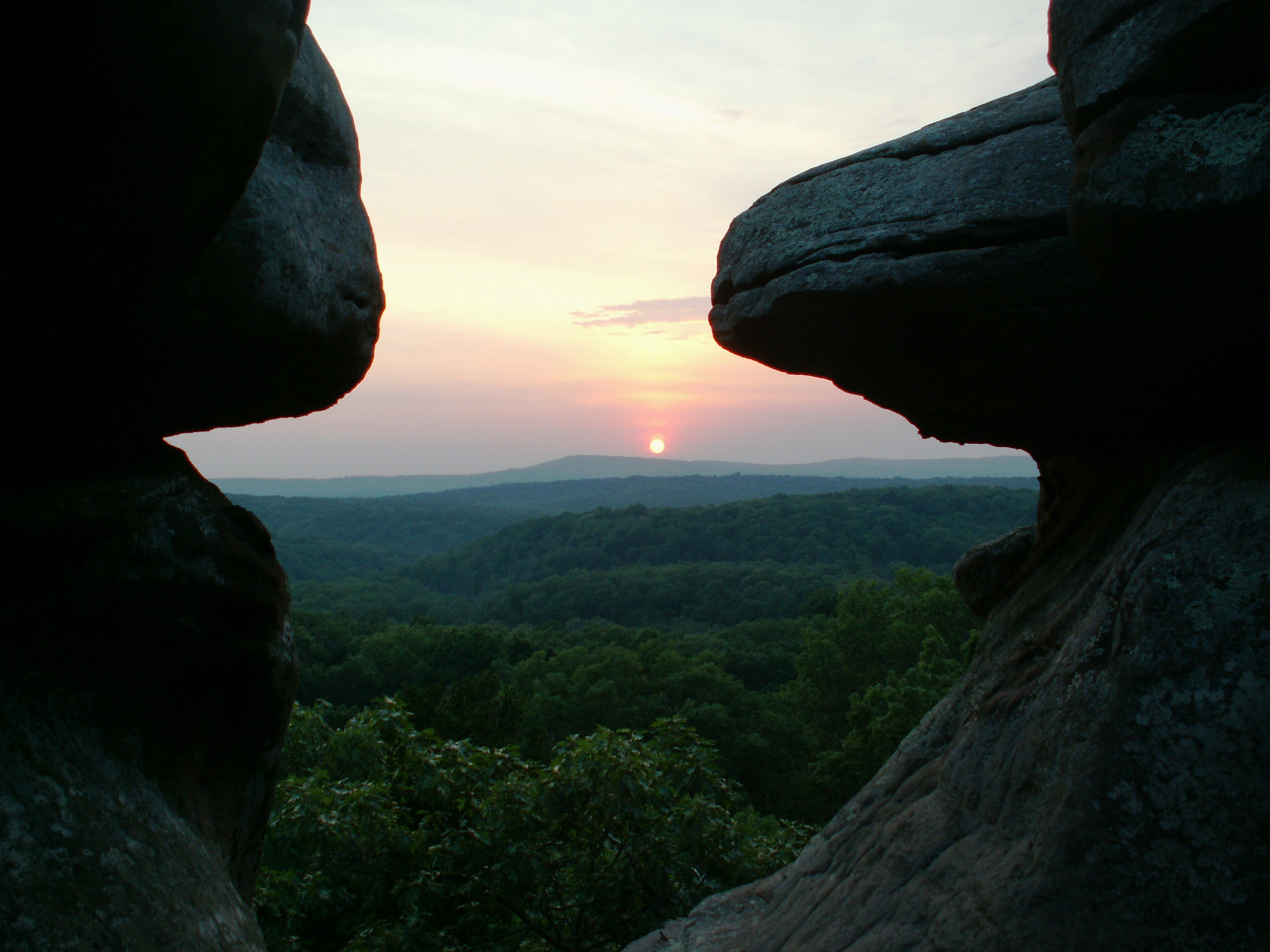 Shawnee National Forest And Cave In Rock State Park