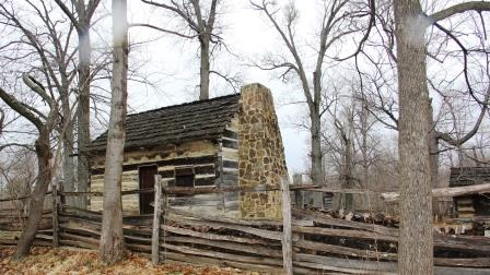 Replica of Lincoln Cabin