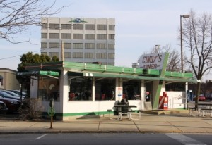 Cindys Diner Exterior