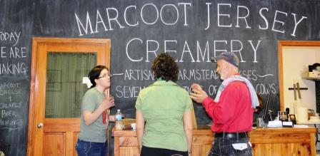Marcoot Jersey Creamery, Greenville IL: Family Farm Saved by the Cheese