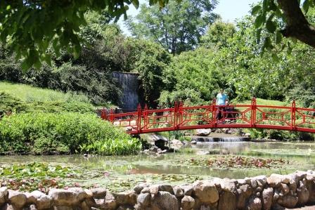 Explore Three Gardens near Champaign, Ill.
