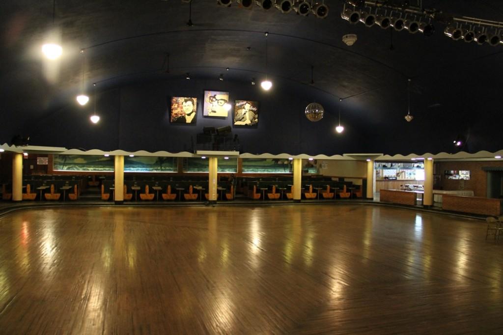 Ballroom floor