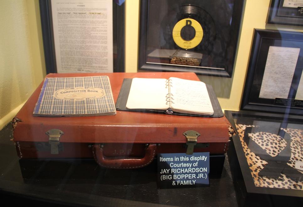Museum - Big Bopper briefcase