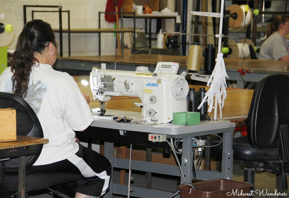 Sewing at the Winnebago Factory