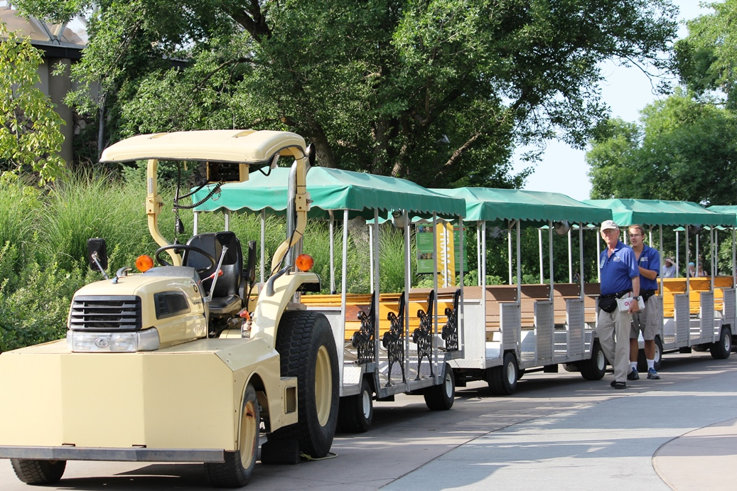 Ride the tram at the Henry Doorly Zoo