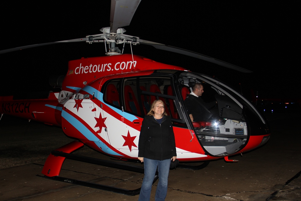 Me with helicopter