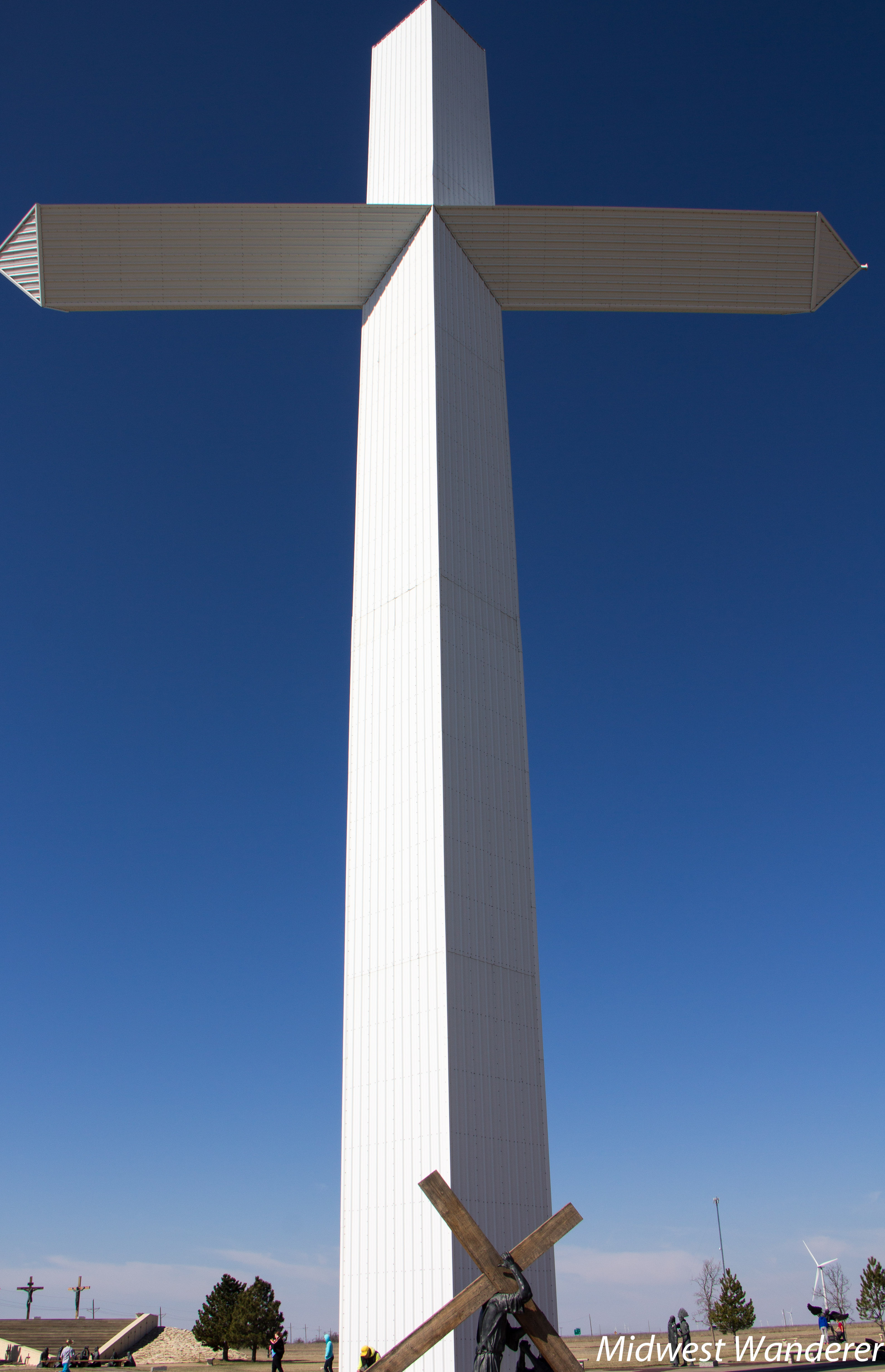 More to Giant Crosses than Visible from the Interstate