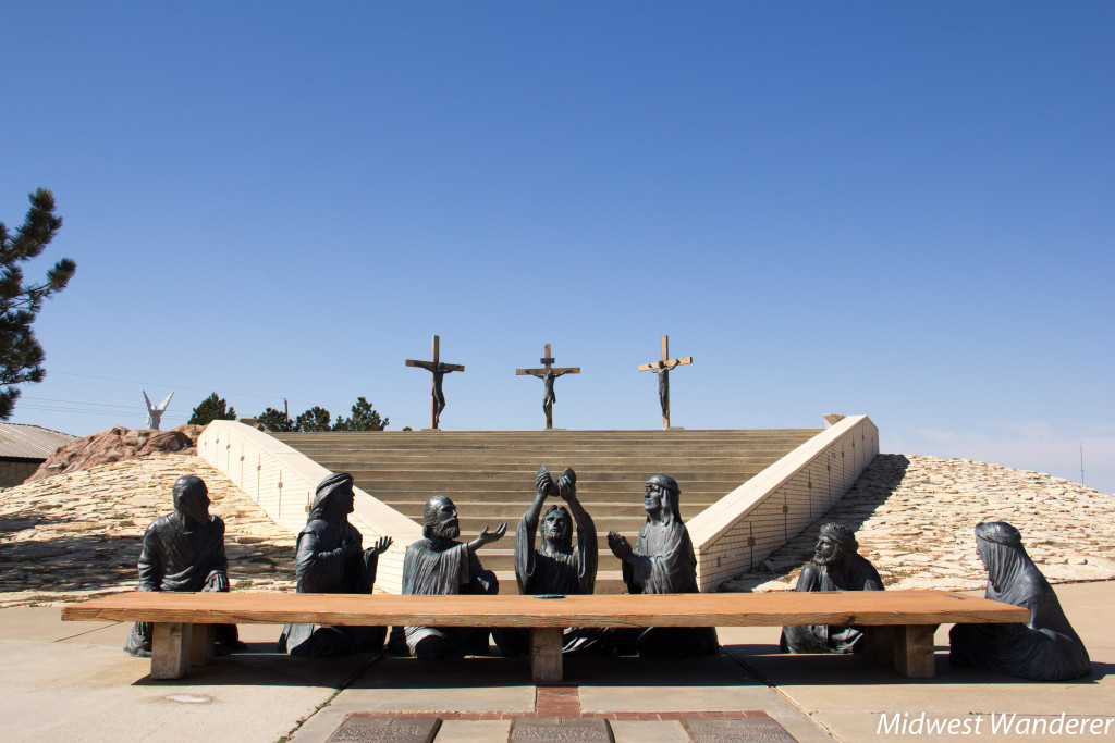 Mount Calvary at Cross of our Lord Jesus Christ, Groom Texas