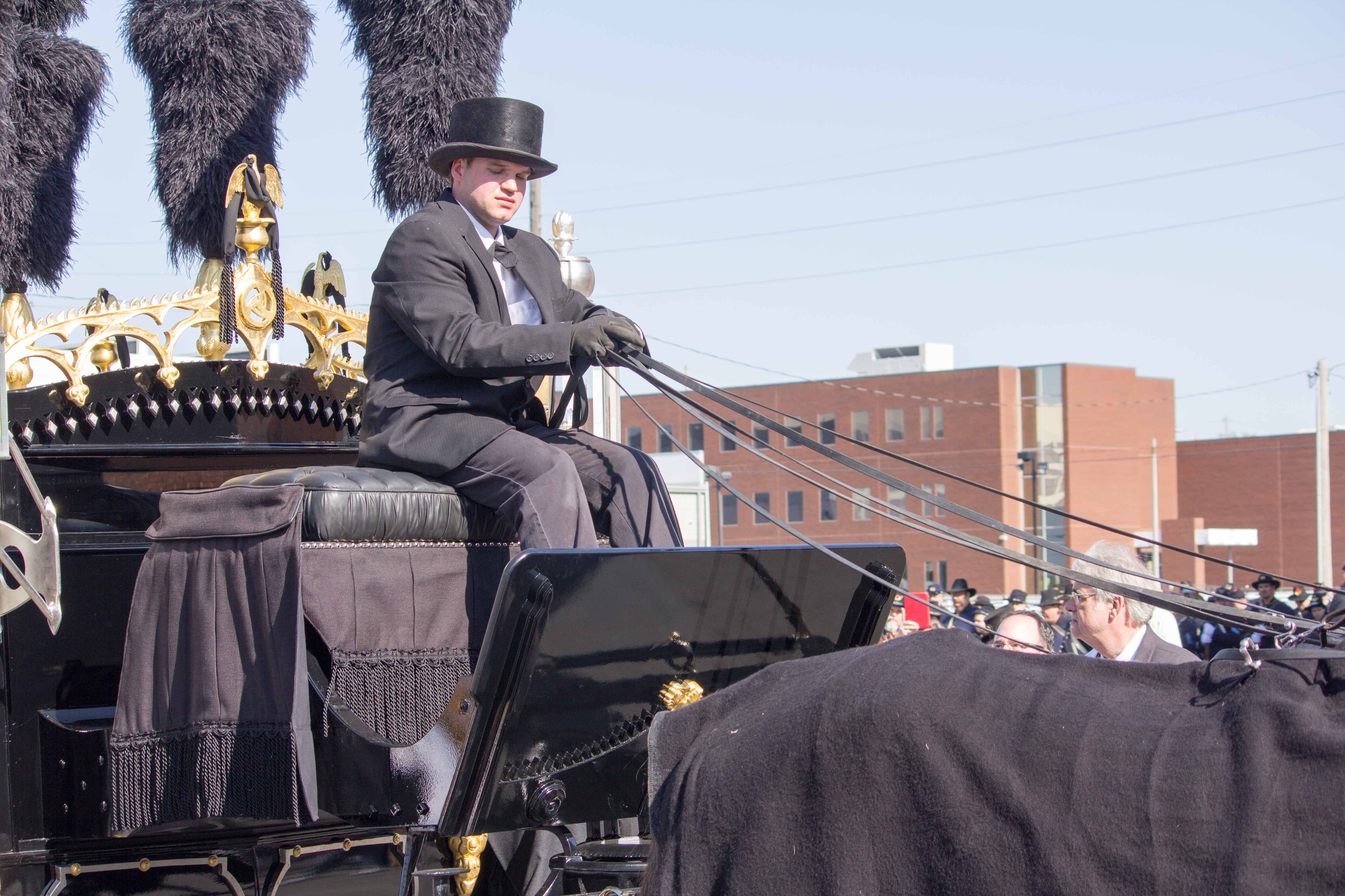 Abraham Lincoln Funeral Reenactment Video