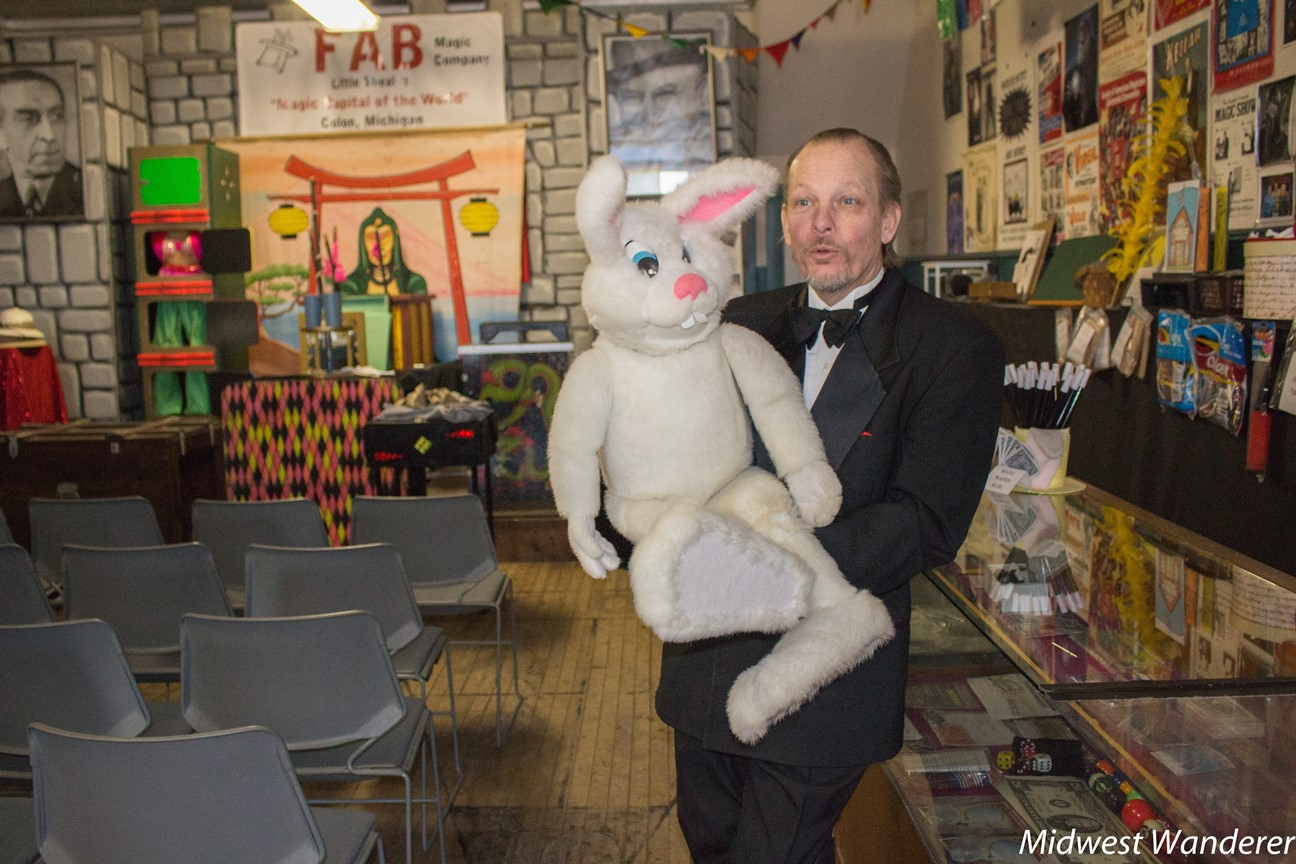 Meet Rick Fisher, Magician and Ventriloquist