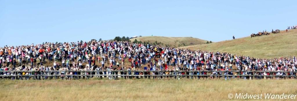 Buffalo Roundup spectators