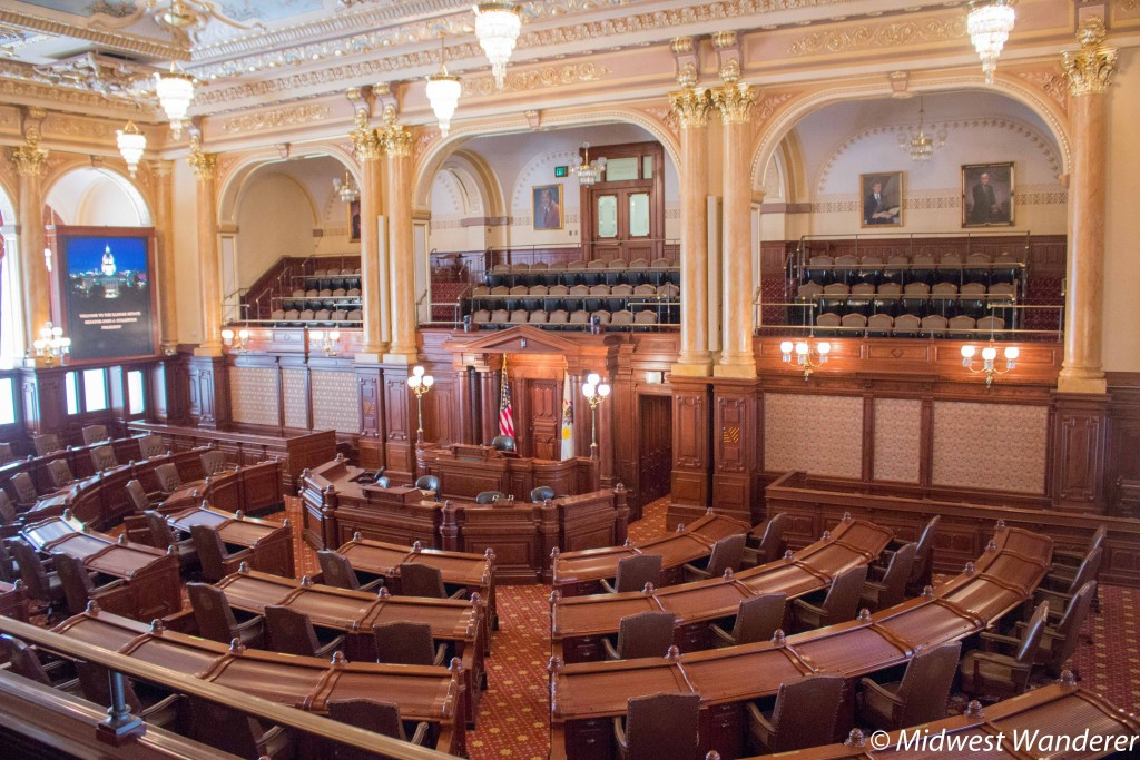 Illinois Senate chambers