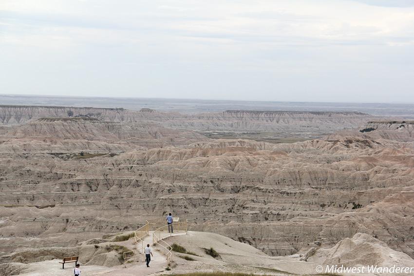 Badlands National Park overlook