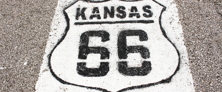 Route 66 through Kansas
