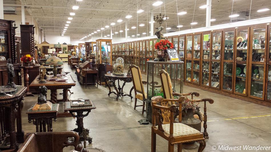 Antique Furniture, Relics Antique Mall