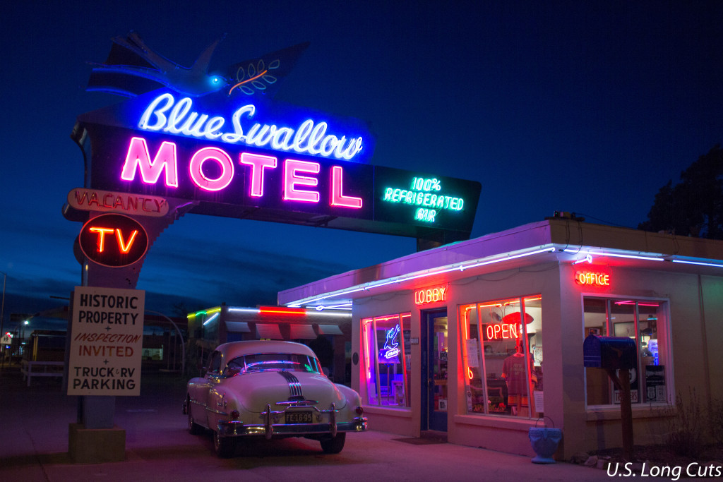 Blue Swallow Motel Route 66 Classic Midwest Wanderer