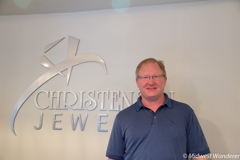 Russ Gibson, Christensen Jewelry, downtown Hampton Iowa