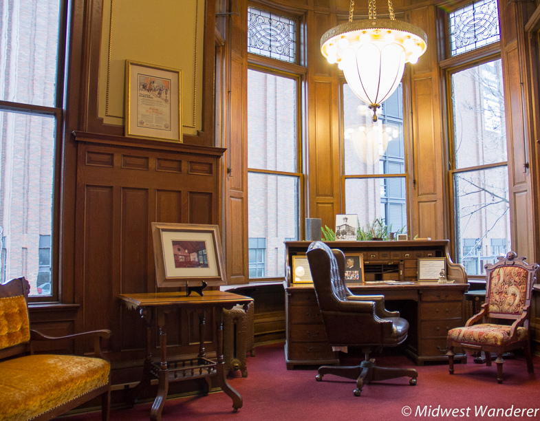 Captain Pabst's office