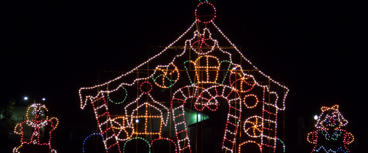 Du Quoin Holiday Lights Fair: Drive-Through Lights, Indoor Festival