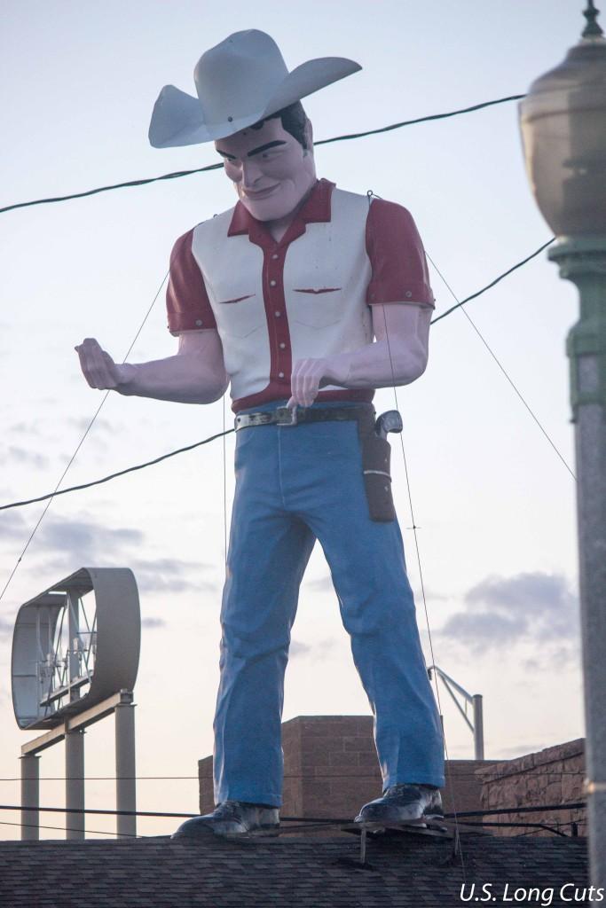 Muffler Men - cowboy