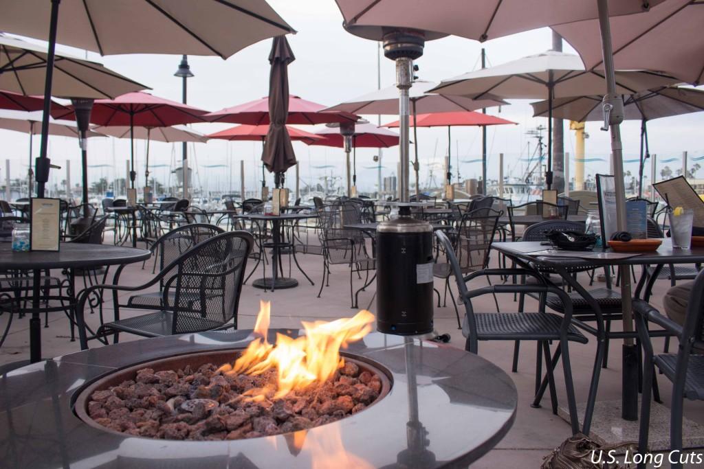 Waterside Restaurant outdoor seating