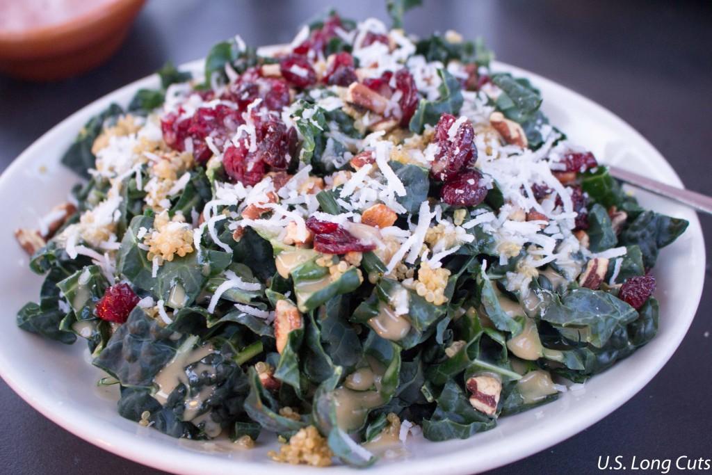 Entree salad at Waterside Restaurant