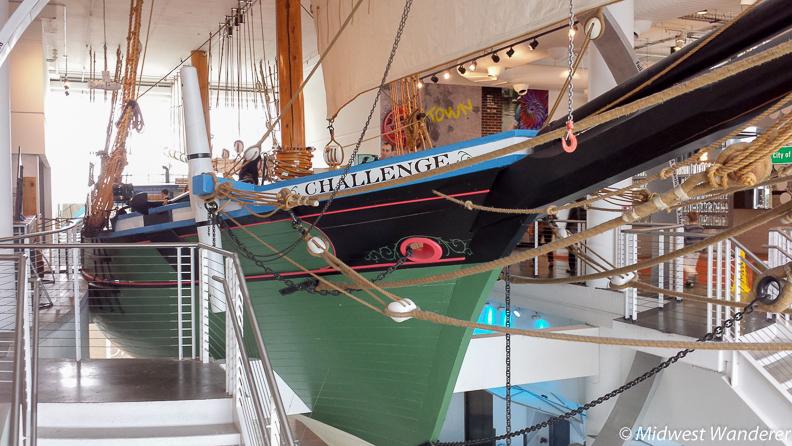 Challenge schooner, Discovery World