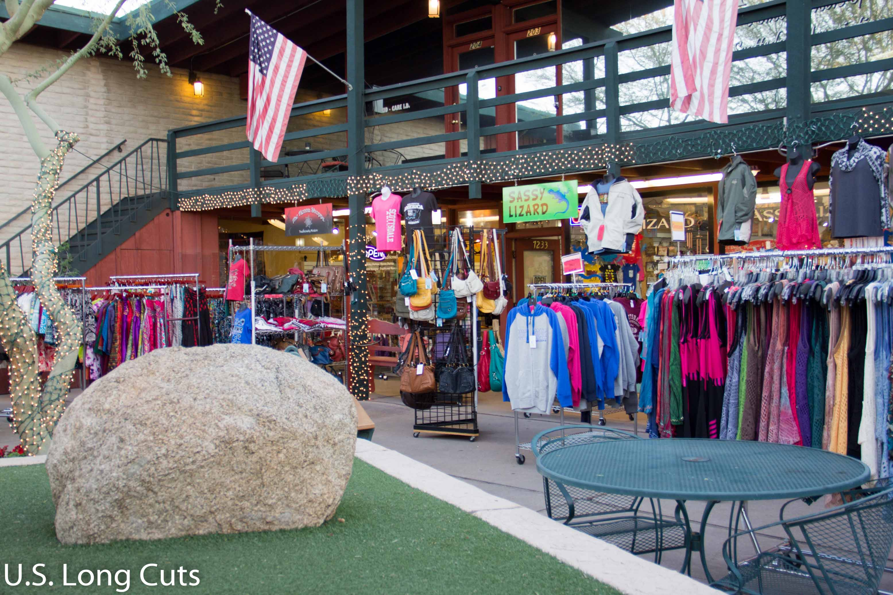 clothing store in Old Town Scottsdale