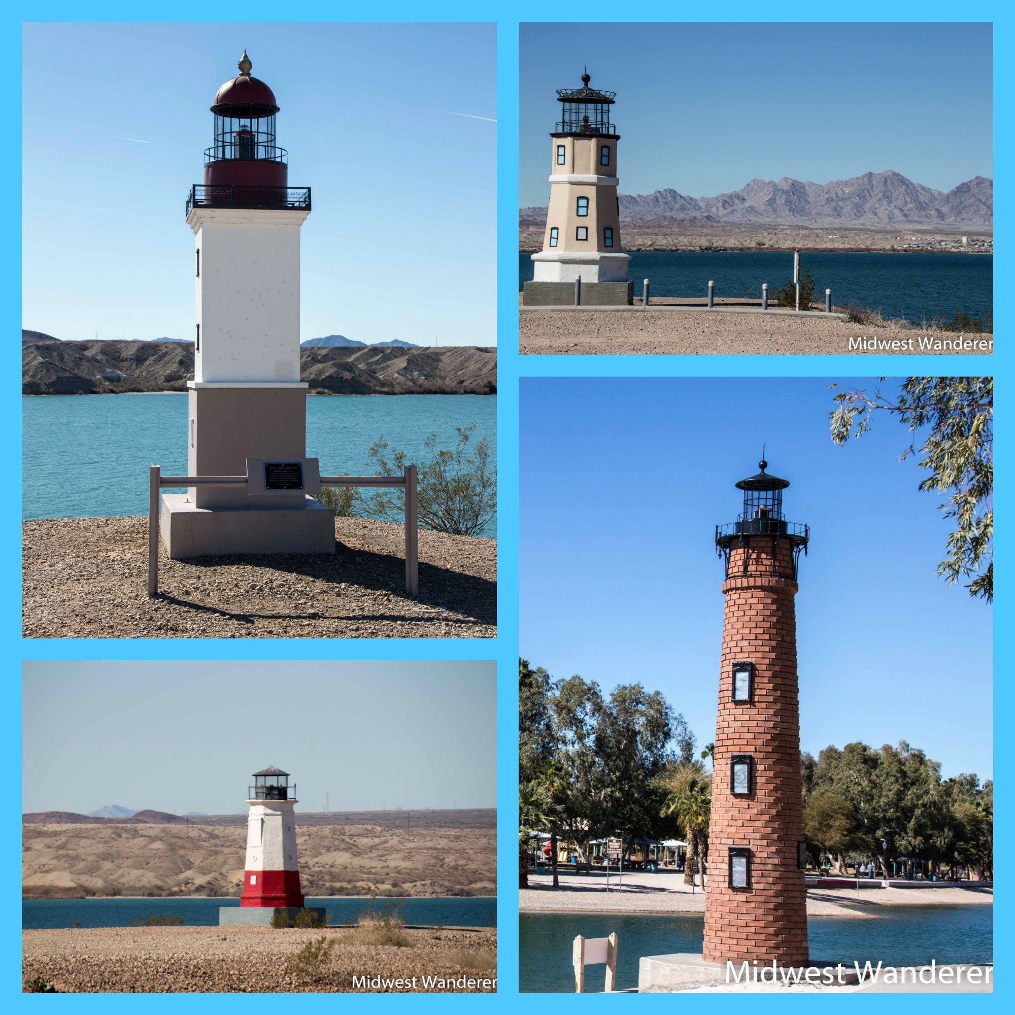 Lighthouses at Lake Havasu City