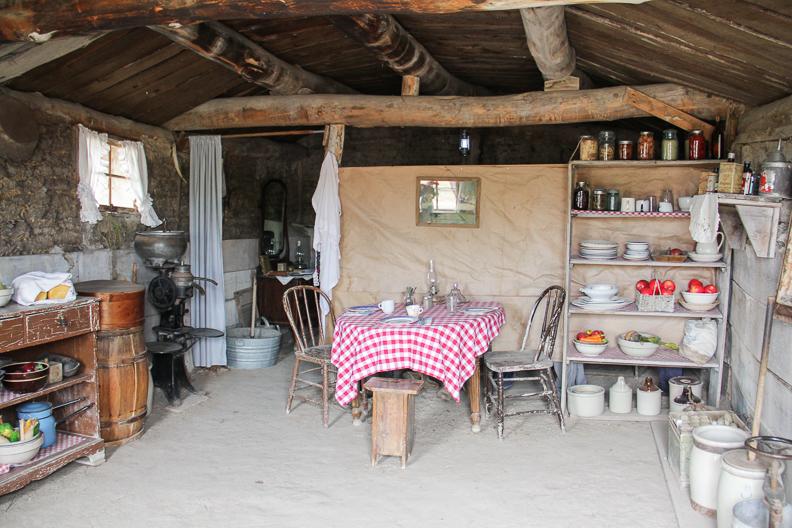 Prairie Homestead living area