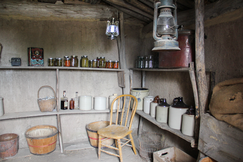 in the root cellar