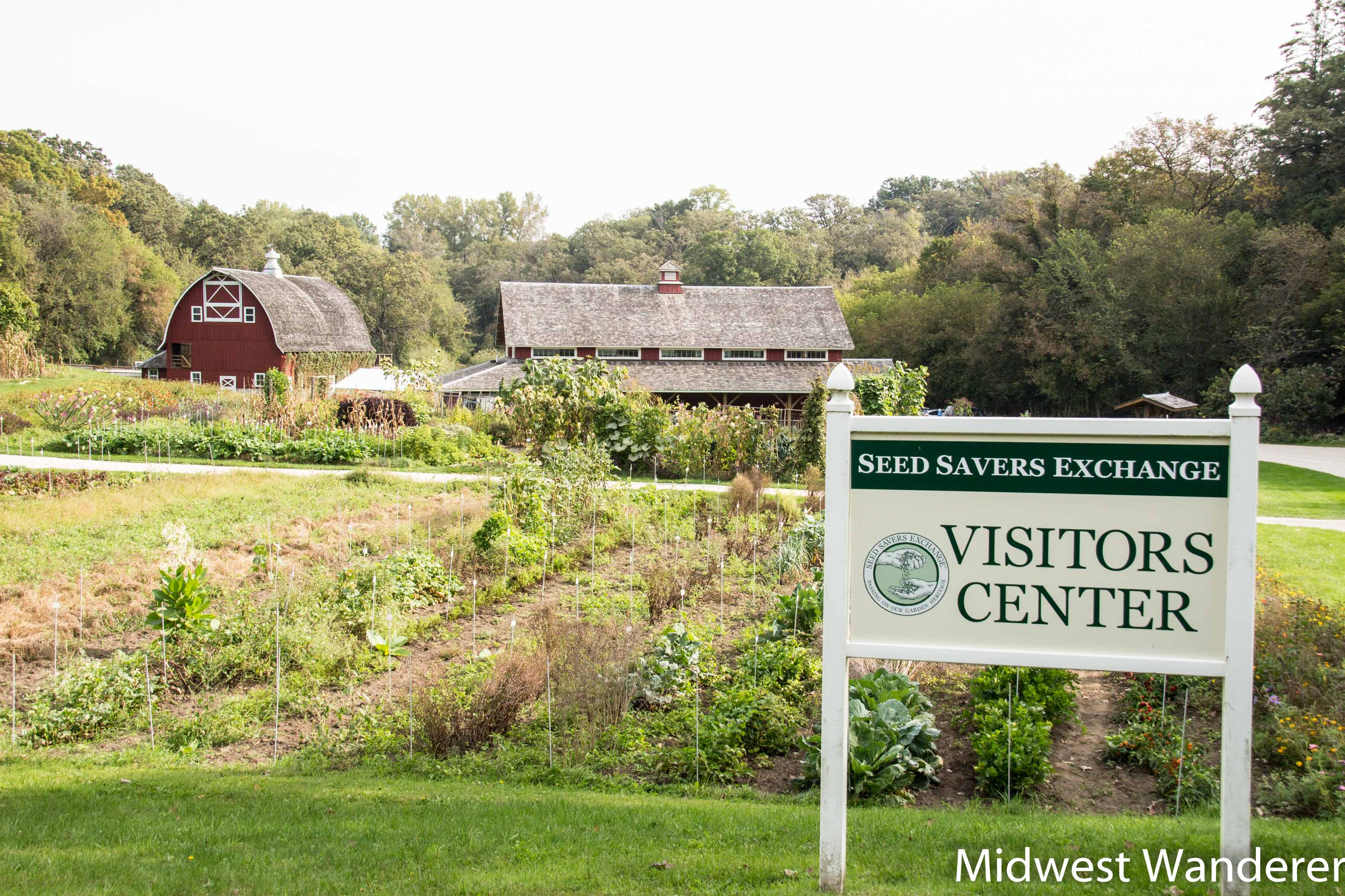 Seed Savers Exchange visitor center