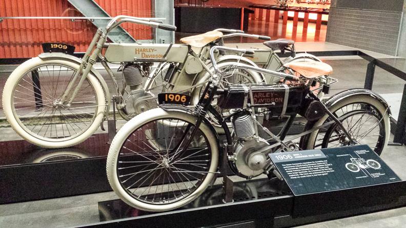 1906 Harley-Davidson Motorcycle