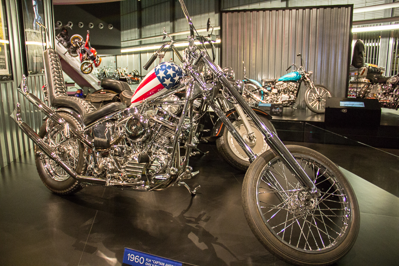 Replica of bike ridden in Easy Rider