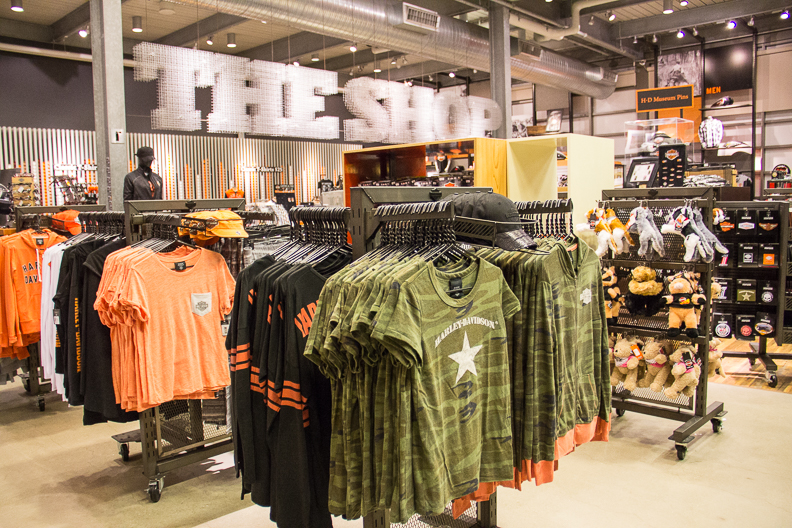The Shop at the Harley-Davidson Museum