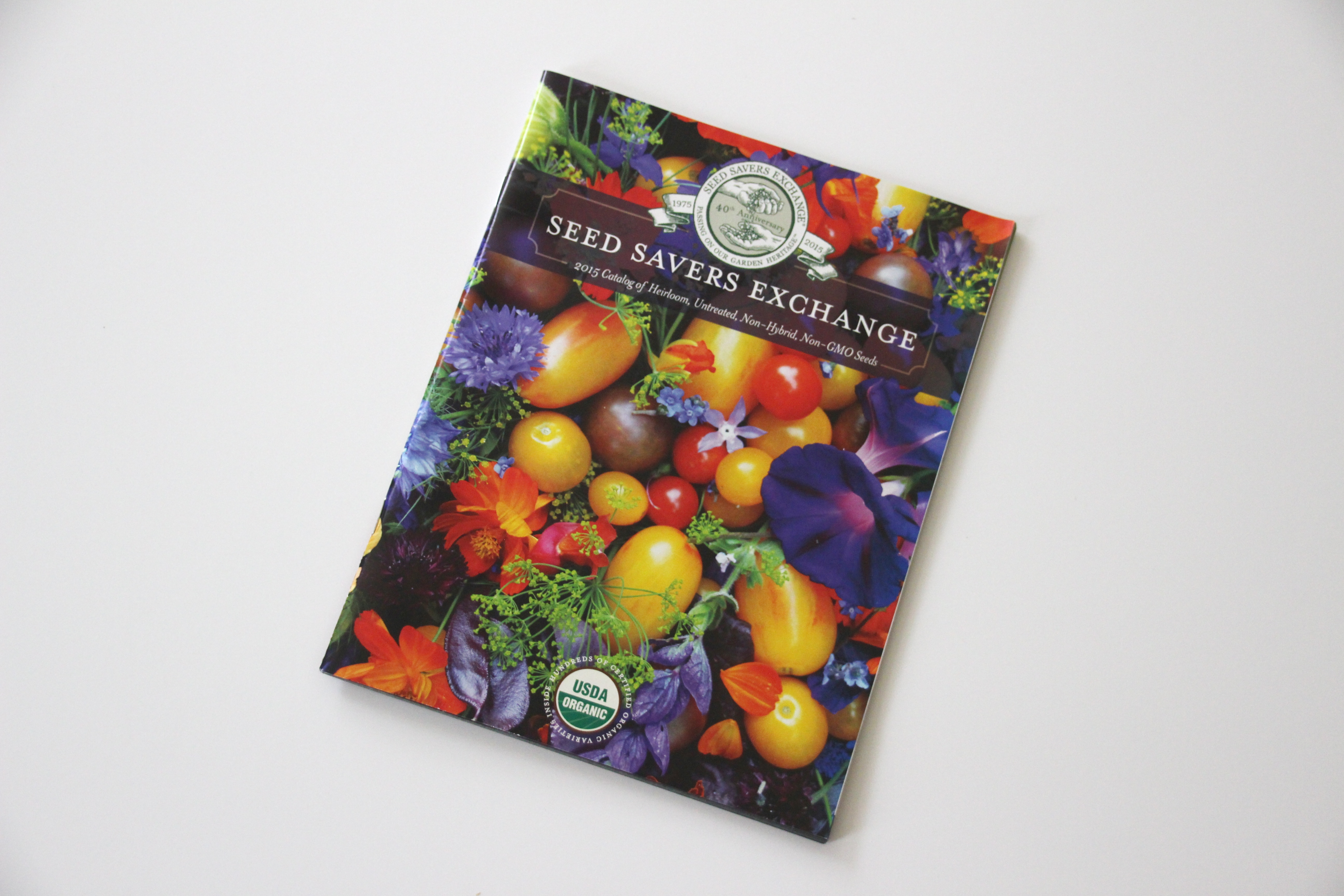 Seed Savers Exchange catalog