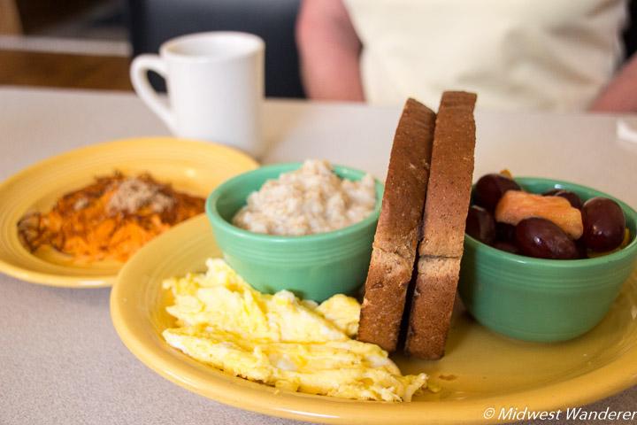 Breakfast at Gailey's Breakfast Cafe