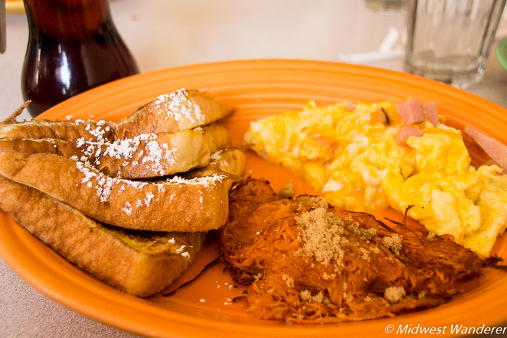 French Quarter breakfast at Gailey's Cafe