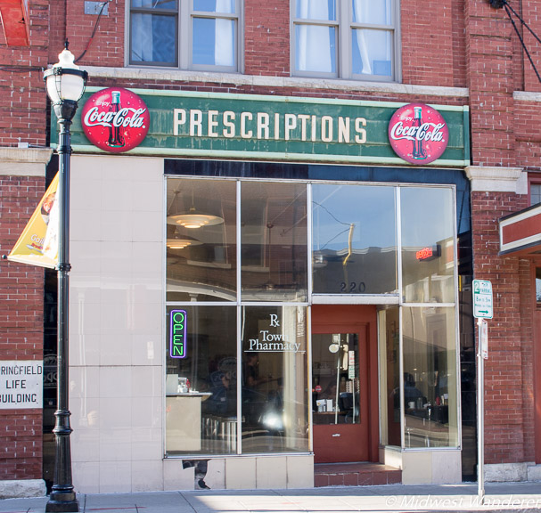 Drugstore signage at Gailey's