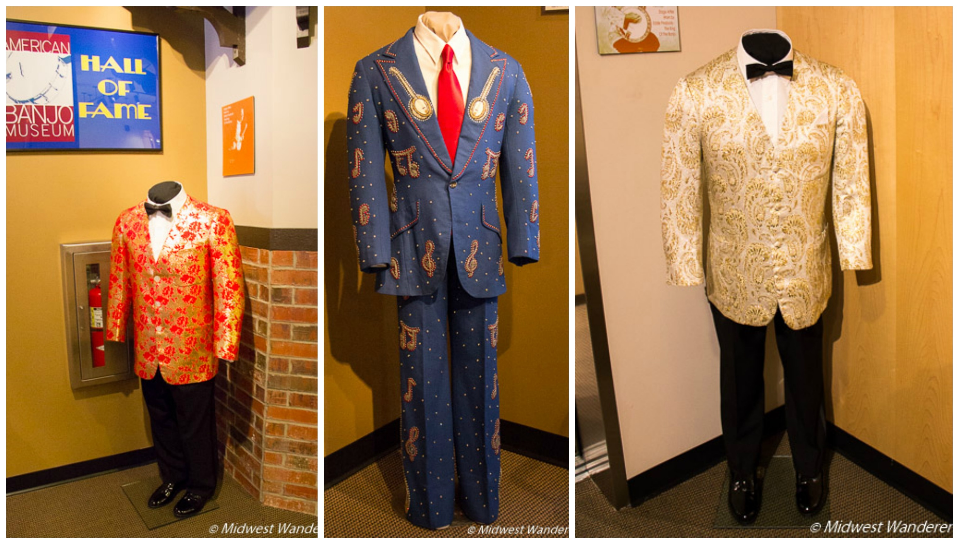 Performance Outfits in the Banjo Hall of Fame