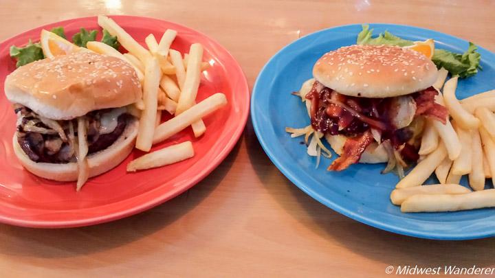 Burgers at Daniel's