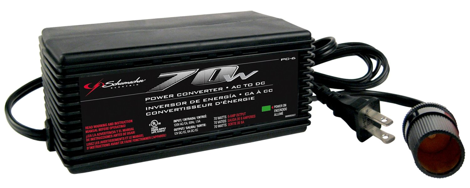 Schumacher P-6 power converter