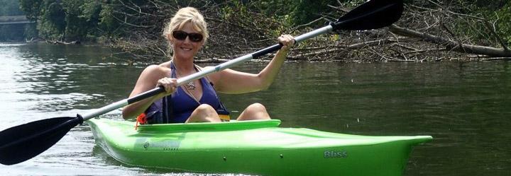 Deb Miller, co-owner of Cocoa Kayak Rentals of Hershey