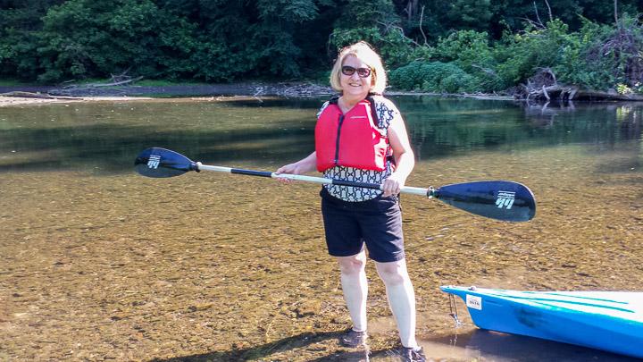Kayaking with Cocoa Kayak Rentals of Hershey